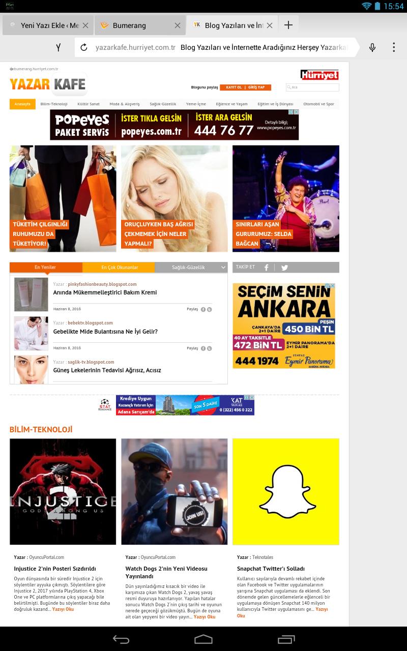 Yazarkafe_nin anasayfasi